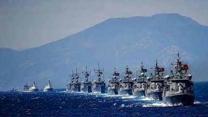 Son dakika: MYK sonrası rest çekildi: Türk donanması ile şaka yapılmaz