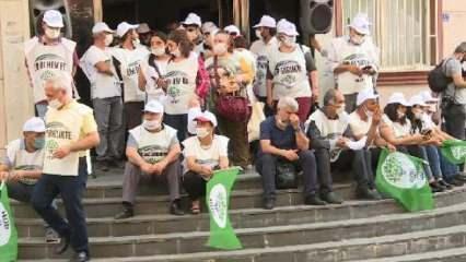 Yürüyüşe katılan HDP'li vekillerin koronavirüs testi pozitif çıktı
