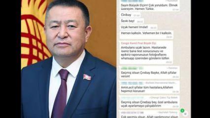 Koronavirüsten ölmeden önceki son mesaj: Yoruldum, imdat! Ölüyorum, beni Türkiye'ye kaldırın