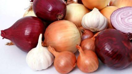 Soğan ve sarımsağın faydaları nelerdir? Doğal antibiyotik olan sarımsak nasıl tüketilir?