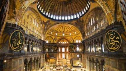 Ayasofya'da ilk ibadet böyle olacak! Salı günü Erdoğan'a sunulacak