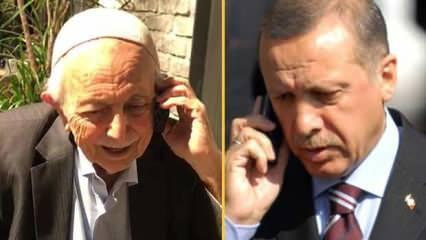 Başkan Erdoğan, Bediüzzaman'ın talebesi Mehmet Fırıncı ile telefonda görüştü