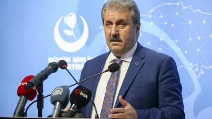 BBP Genel Başkanı Destici: Zincirler kırıldı, Ayasofya ibadete açıldı