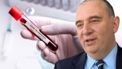 Ateş Kara, koronavirüse daha kolay ve daha zor yakalanan kan gruplarını açıkladı