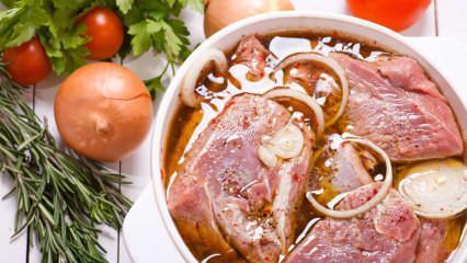Et nasıl marine edilir? Et marine sosu yapmanın püf noktaları! Sirkeli et marine sosu tarifi