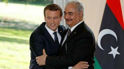 Hafter'i destekleyen Fransa'dan ikiyüzlü açıklama!