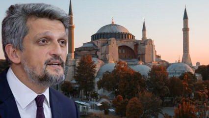 HDP'den Ayasofya hakkında skandal açıklama