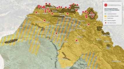 Mehmetçik Irak'ın kuzeyine Pençe'yi sağlam geçirdi