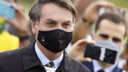 Koronaya yakalandı, hala akıllanmıyor! Bolsonaro'dan skandal karar