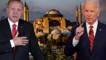 Trump'ın rakibi Joe Biden'dan küstah Ayasofya açıklaması! Erdoğan'dan resmen talep etti