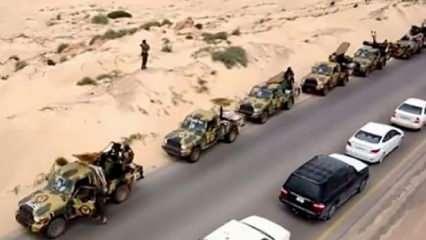 Libya'da UMH güçleri Sirte'ye yığınak yapıyor