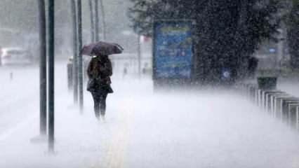 Meteoroloji'den İstanbul ve 11 il için son dakika uyarısı: Kuvvetli geliyor