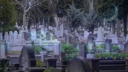 Rüyada mezar görmek ne anlama gelir? Rüyada mezar görmenin tabiri...