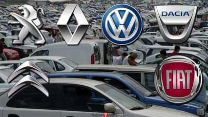 Sahibinden 75 bin TL altı ikinci el araç modelleri! Peugeot Renault Dacia  Fiat araba fiyatları