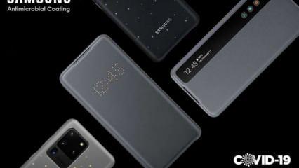 Samsung koronavirüsten koruyan kılıf patenti aldı
