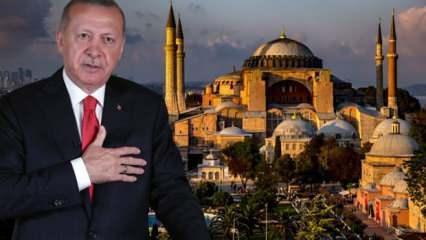 Danıştay, Ayasofya'nın müze statüsünü kaldırdı! Erdoğan ibadete açılacağı tarihi açıkladı