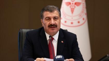 Son dakika... Sağlık Bakanı Koca'dan koronavirüs salgınına ilişki önemli açıklamalar