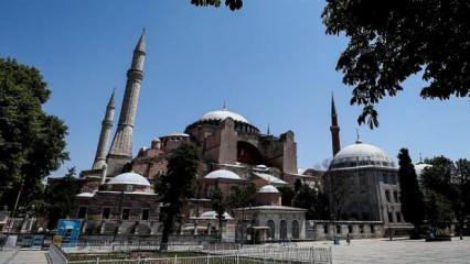 Ayasofya kararı öncesi UNESCO'dan hadsiz açıklama