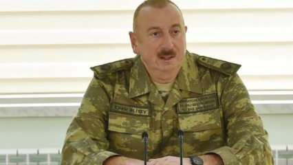 Azerbaycan Cumhurbaşkanı Aliyev'den Ermenistan'a çok sert sözler