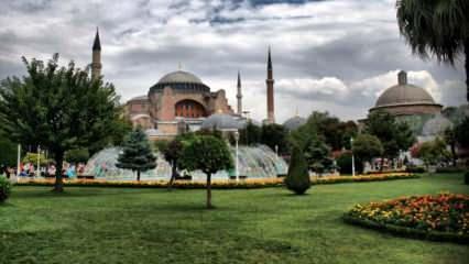 Ayasofya Camii'nde ilk namazın programı belli oldu