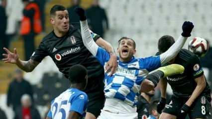 Beşiktaş'ta Ruiz'in yerine Roco geçiyor