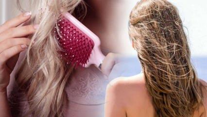 Denizden sonra saça ne yapılır? Deniz ve havuz sonrası yıpranan saçlar için bakım önerileri