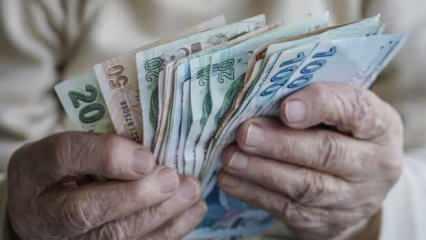 Emekli ek ödemeleri kaç TL oldu? Maaşlara göre zamlı SSK Bağ-Kur emekli 2020 ek ödeme tablosu