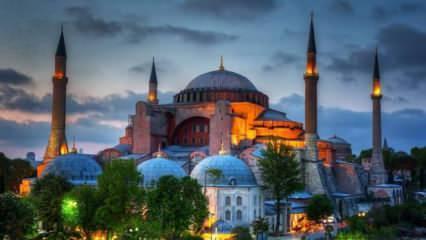 İstanbul Fetih Cemiyeti, 1953 tarihli 'Ayasofya kitabesi' için yeni yer talep etti