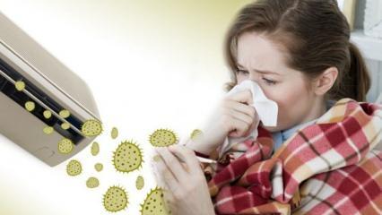 Klima çarpması belirtileri ve tedavisi nelerdir? Klima çarpmasına doğal yöntem!
