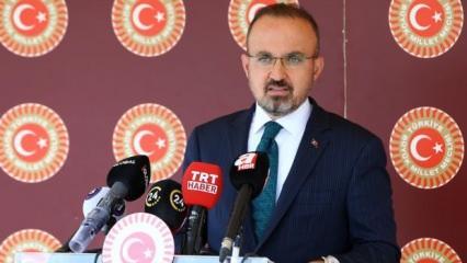 Turan: CHP Türkiye'yi geriye götürmek derdinde!