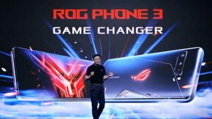 Asus'un oyun canavarı tanıtıldı: ROG Phone 3
