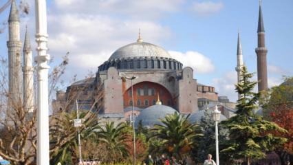 Ayasofya camii nerede? Ayasofya camii nasıl gidilir? İstanbul ulaşım hatları...