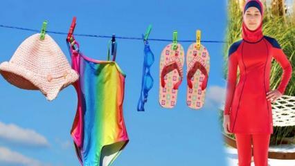 Bikini ve mayolar nasıl yıkanır? Bikini ve mayo temizlemenin püf noktaları
