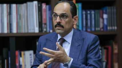 İbrahim Kalın'dan 'İsrail-BAE anlaşması'na tepki