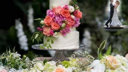 Düğün pastası nasıl seçilir? Konsepte göre düğün pastası seçimleri