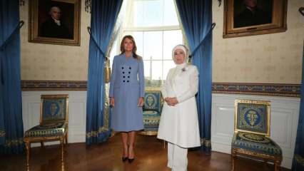 Emine Erdoğan'ın giyim tarzı dünya listesinde! Dünyanın en şık first ladyleri
