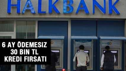 HalkBank 0,55 faiz oranı 6 ay ödemesiz ile kredi sağlayacak! Başvuru şartları neler