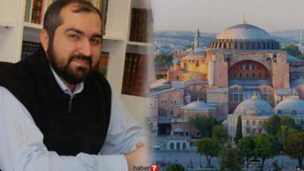 Mehmet Boynukalın kimdir? İşte Ayasafya'da görevli imamlar ve müezzinler