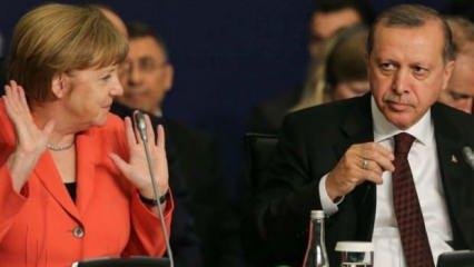 Merkel'in talebini Erdoğan reddetti! Yunan'ı gazlayan ülke...