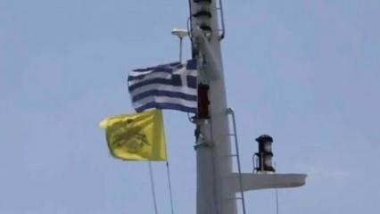Türkiye'nin NAVTEX hamlesi sonrası Bizans bayrağını göndere çektiler