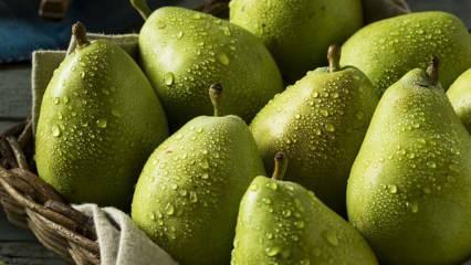 Yaz meyveleri nelerdir? Yaz boyu düzenli armut yerseniz...