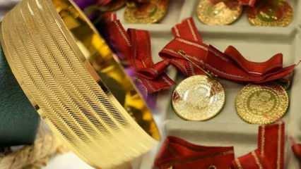 27 Temmuz Altın fiyatları yükselişi sürdürüyor   Gram Altın Çeyrek Altın alış satış fiyatı