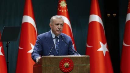 Başkan Erdoğan: 500 kişilik ekip 24 saat koruyacak