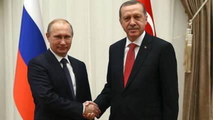 Başkan Erdoğan, Putin'le telefonda görüştü