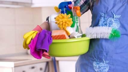 Dip köşe en kolay bayram temizliği! Evde bayram temizliği nasıl yapılır?