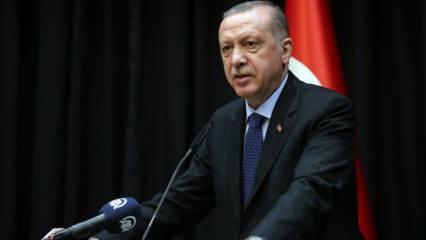 Cumhurbaşkanı Erdoğan: Hayırlı olmasını diliyorum