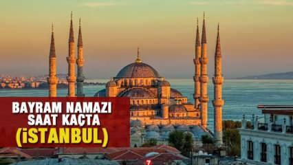 İstanbul bayram namazı saat kaçta? Kurban Bayram namaz vakitleri açıklandı!
