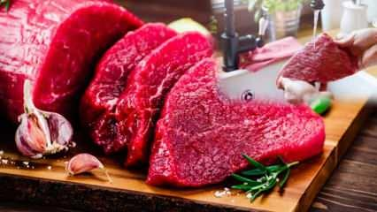 Kanlı et yıkanır mı? Pişirmeden önce kırmızı et yıkanır mı?