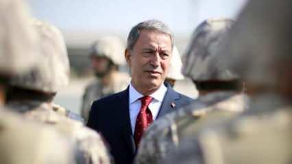 Milli Savunma Bakanı Akar'dan Kurban Bayramı mesajı