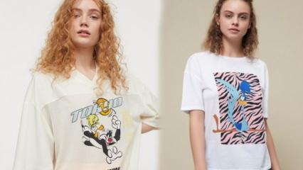En şık Looney Tunes karakterli t-shirt modelleri! Baskılı t-shirt modelleri